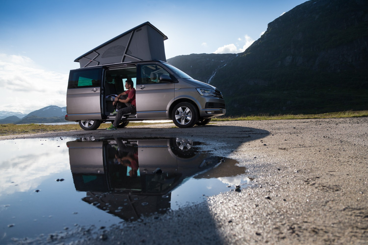 location camping-car Fribourg Vans VW 4 places